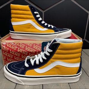New Vans SK8-Hi 38 DX Anaheim Factory Shoe Size 10